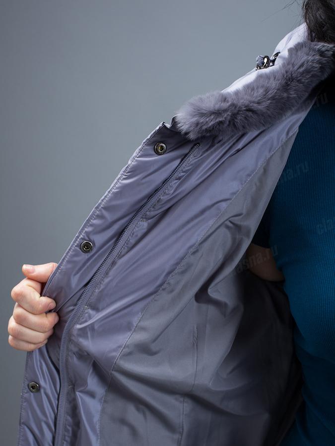 Пальто женское Clasna CW19D-106ACQL (W722)