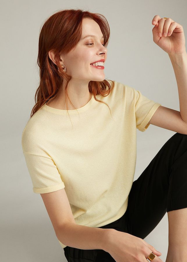 Блуза Elis BL0149V (желтый)
