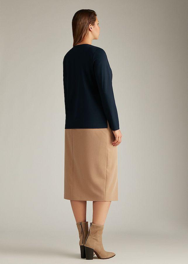 Блуза Lalis BL0154K (темно-синий)