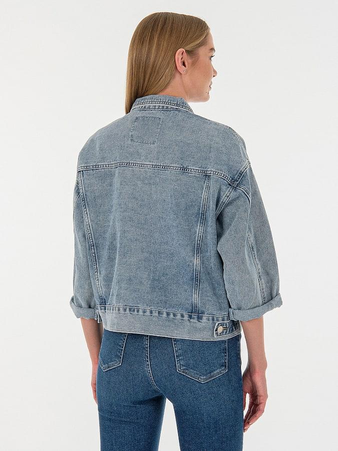 Джинсовая куртка MR19089MC