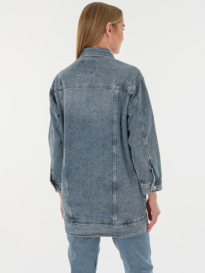 Джинсовая куртка MR19102M