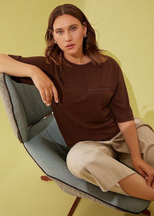 Блуза Lalis BL0421K (коричневый)
