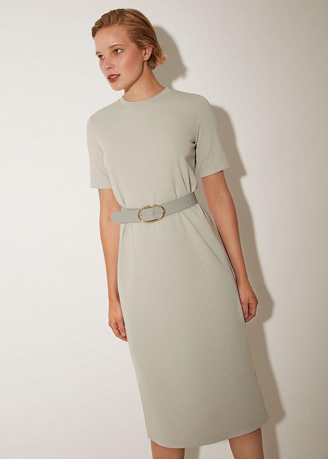 Платье Elis DR2107KХ (серый)